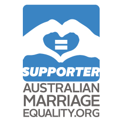 Studio Amori supports Marriage Equality in Australia